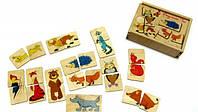 Дерев'яна іграшка «Половинки Лісові тварини»