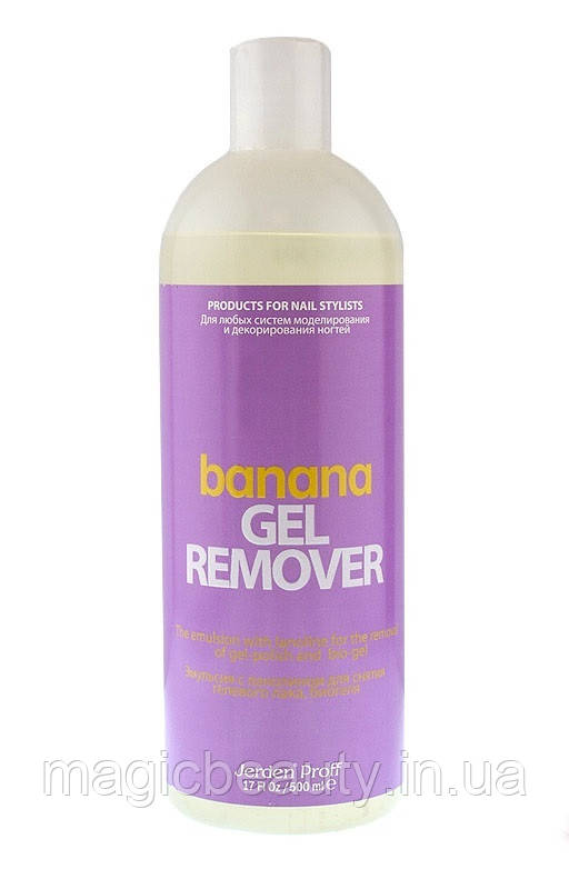 Средство для снятия гель-лака Gel Remover  БАНАН  Jerden PROFF, 500 мл