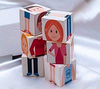 Кубики «Склади людину», фото 1