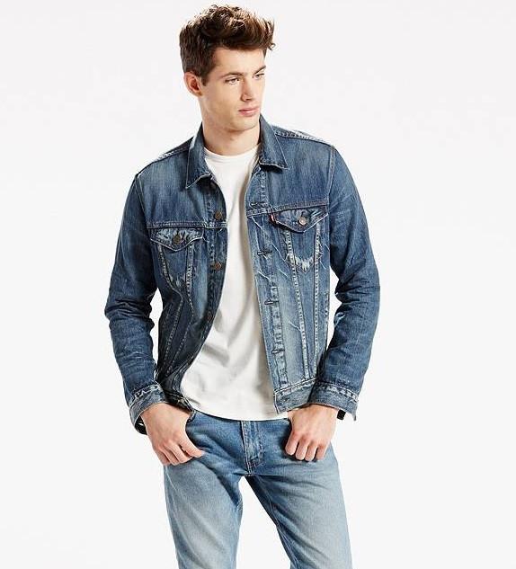 Джинсовая куртка Levis Trucker - Danica