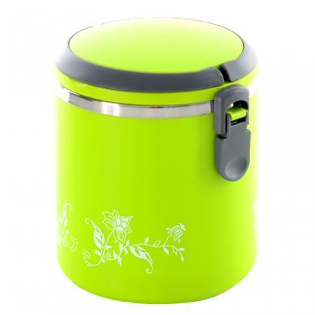 Термос пищевой ланч бокс пластиковый с железной колбой 1.8л C-118 Lunch Box