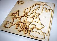 Карта-пазл «Європа», фото 1