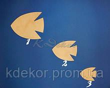 Рибка №3 (фанера 4мм.) заготівля для декупажу та декору