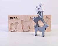 Набір фігурок «Мама, тато, дитинча Собаки», фото 1