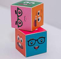 Кубики з емоціями 2 шт в наборі