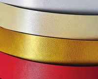 Дизайнерский картон ICELAND, А4 золото 20л, 220г/м2, 200606