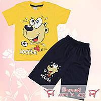 Футболка и шорты летний костюм для мальчика от 2 до 5 лет (5316-4)