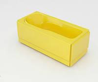 Ванна акриловая ARTEL PLAST Цветана (170) желтая, фото 1
