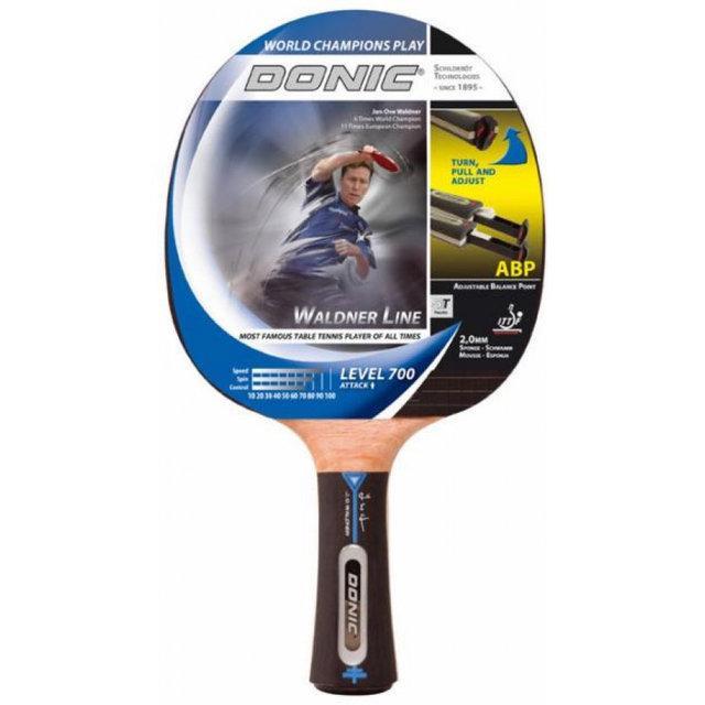 Ракетка для настільного тенісу дублікат Donic Waldner Line 700 D-WL700