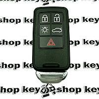 Оригинальный смарт ключ для Volvo (Вольво) 5 кнопок, чип id46 / 433MHz (keyless-go)
