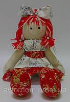 Детская Интерьерная Кукла Тильда с бантиком