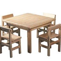 Детский набор стол и стулья Baby Сосна SportBaby