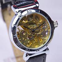 Женские механические часы скелетон Слава С6562