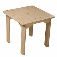 Детский столик деревянный Baby Сосна