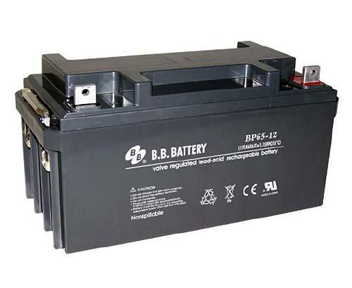 Аккумуляторная батарея B.B. Battery BP 65-12 (12V, 65 Ah)