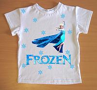 """Футболка детская """"Frozen"""", белая"""
