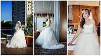 Шикарное свадебное платье компания DOMINISS