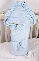 Зимний конверт-одеяло с капюшоном для новорожденных, Мария