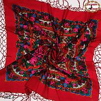 Украинский красный платок Королева, фото 1