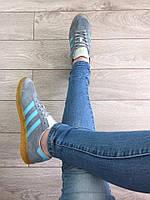 Кроссовки Adidas Hamburg женские серые
