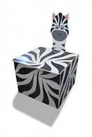 Ящики для игрушек «Животные» С крышкой Даруся