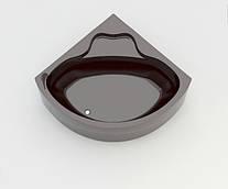 Ванна акриловая ARTEL PLAST Чеслава (120) коричневая