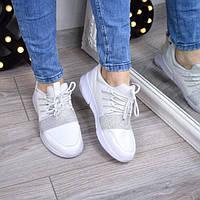 Кроссовки женские RockStar белые 3328, спортивная обувь