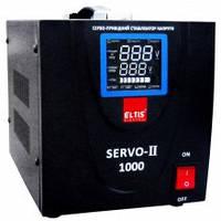 Стабілізатор напруги Елтіс SERVO-II-SVC-1000VA цифровий 1000ВА 1-фазний