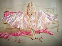 "Вышитая картина для интерьера ""Мрійлива балеринка1"""