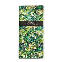"""Турконверт """"Пальмовые листья"""" кошелек для путешествий"""