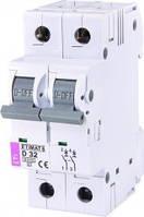 Автоматические выключатели ETI 2-полюсные