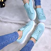 Кроссовки женские Kreeper мятные 3331, спортивная обувь