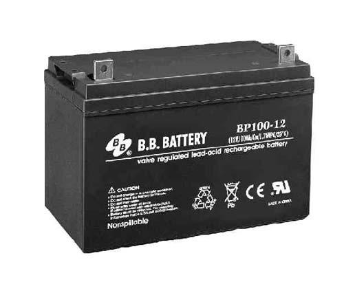 Аккумуляторная батарея B.B. Battery BP 100-12