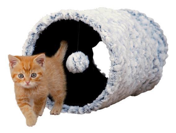 Trixie TX-43003 Тоннель плюшевый для кота ф 25 x 50 см