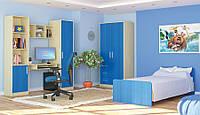 """Мебель в детскую комнату. Комплект-2, модульная система """"Симба"""". Мебель-Сервис"""