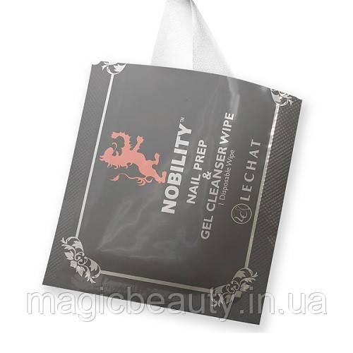 Салфетки Lechat Nobility для снятия гель- лака ( 5шт. в упаковке)