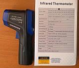 Пірометр Flus IR-828 (-30-850 ℃) EMS 0,1-1,0; DS: 12:1, фото 8
