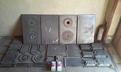 Изделия к печам, каминам, барбекю. Печное чугунное литье / Вироби до печей, камінів, барбекю.
