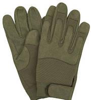 Армейские перчатки олива Mil-Tec