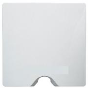Висновок кабелю з затискачем для кабелю IP-21, білий, Legrand Etika Легранд Етика