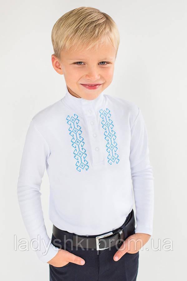 Гольф - вышиванка для мальчика белый Модный Карапуз 03-00677-0 - Интернет- 3cde39c52a55a
