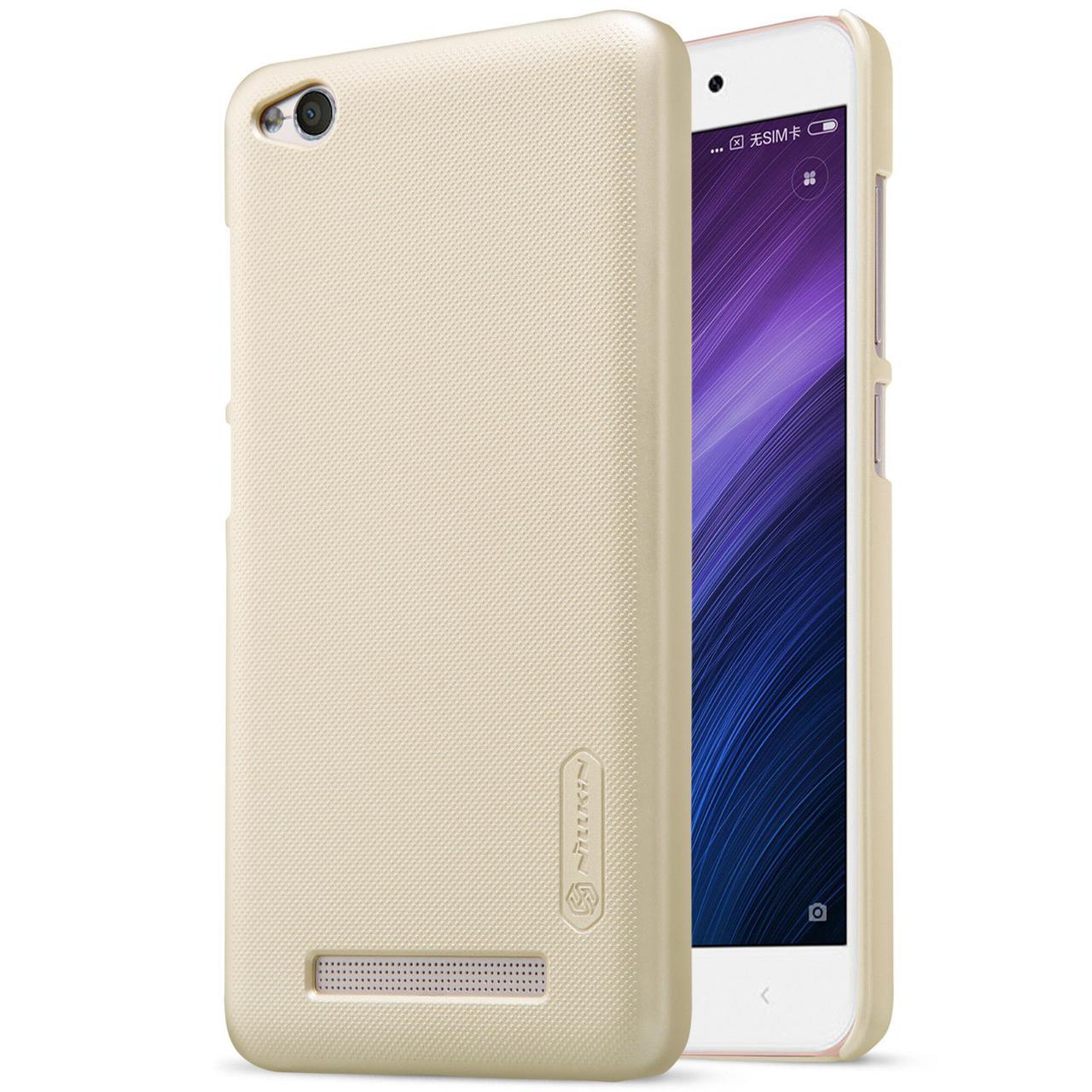 Nillkin Xiaomi Redmi 4A Super Frosted Shield Gold Чохол Накладка Бампер