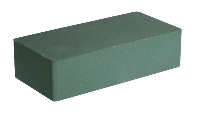 """Облицовочный кирпич LAND BRICK """"Гладкий"""" зеленый 250х120х65 мм"""