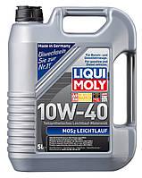 Liqui Moly MoS2 Leichtlauf SAE 10W-40 полусинтетическое моторное масло - 5 л.