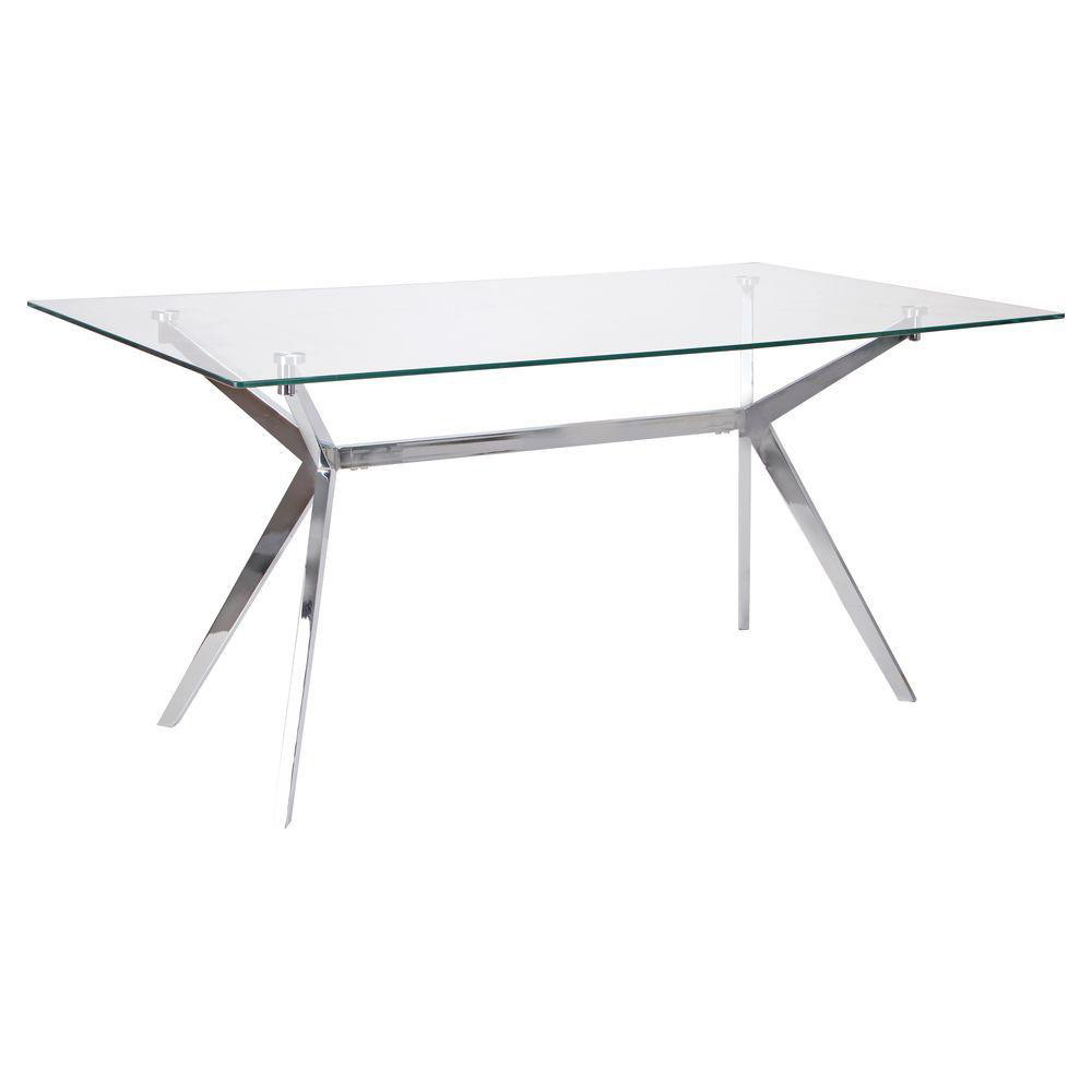 Стеклянный стол Anis (LDT169)