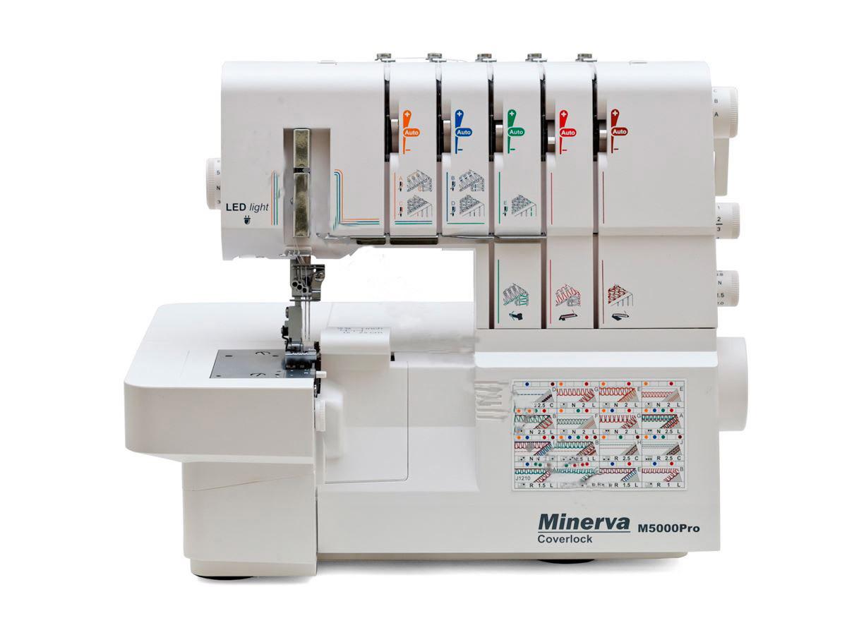 Minerva M50000Pro - коверлок. Новинка 2017 року