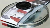 Стеклянная жаропрочная крышка 26 см Vincent VC 4455-26
