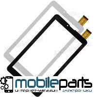 """Оригинальный Cенсор (Тачскрин) для планшета 7"""" Texet 7059 X-pad Navi 7 3G (185*104 мм, 30 pin) (Черный)"""