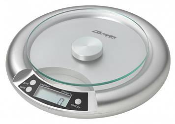 Весы Q91 круглые серебристые