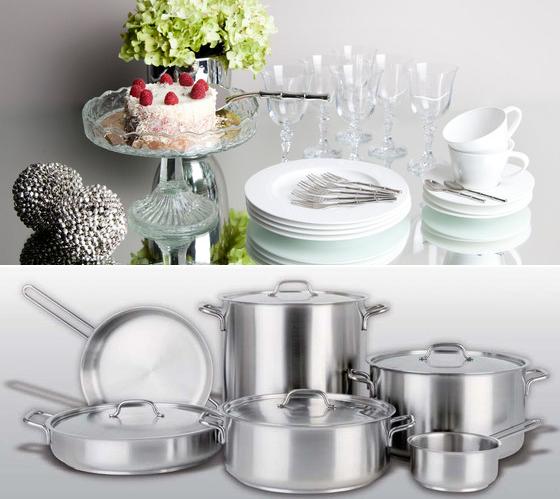 Посуда и инвентарь для кухни